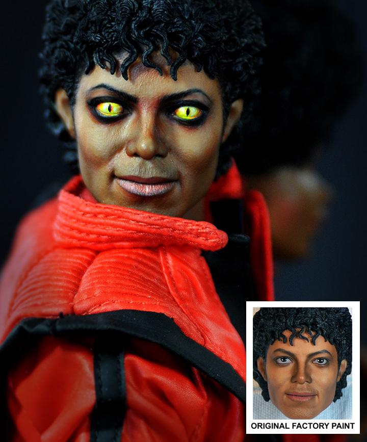 Michael Jackson as werewolf by noeling