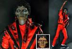 Michael Jackson as zombie