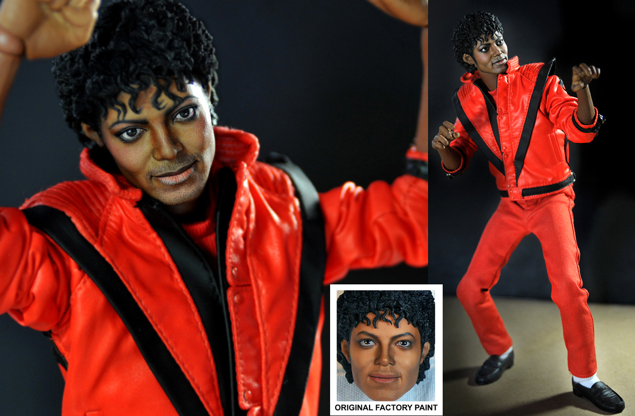 Michael Jackson in Thriller by noeling
