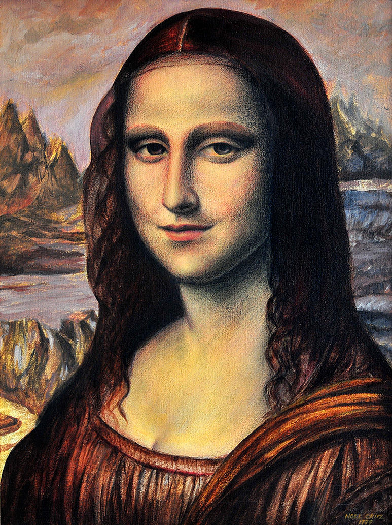 Da Vinci's Muse by noeling