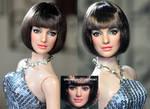 Anne Hathaway Agent 99 doll