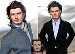 Doll Repaint - Orlando Bloom