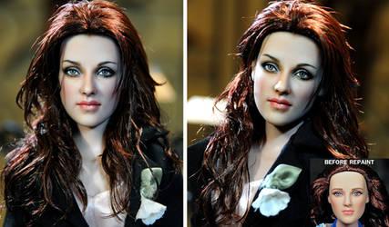Doll Repaint - Kristen Stewart by noeling