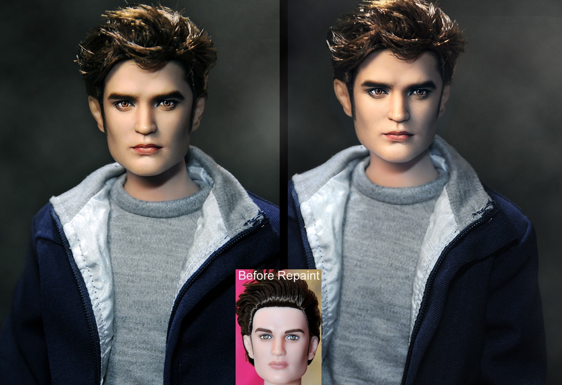 Eclipse Edward Cullen Doll by noeling