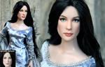 Liv Tyler as Arwen custom doll by noeling