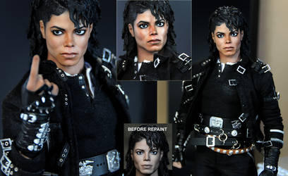 Michael Jackson doll art - BAD