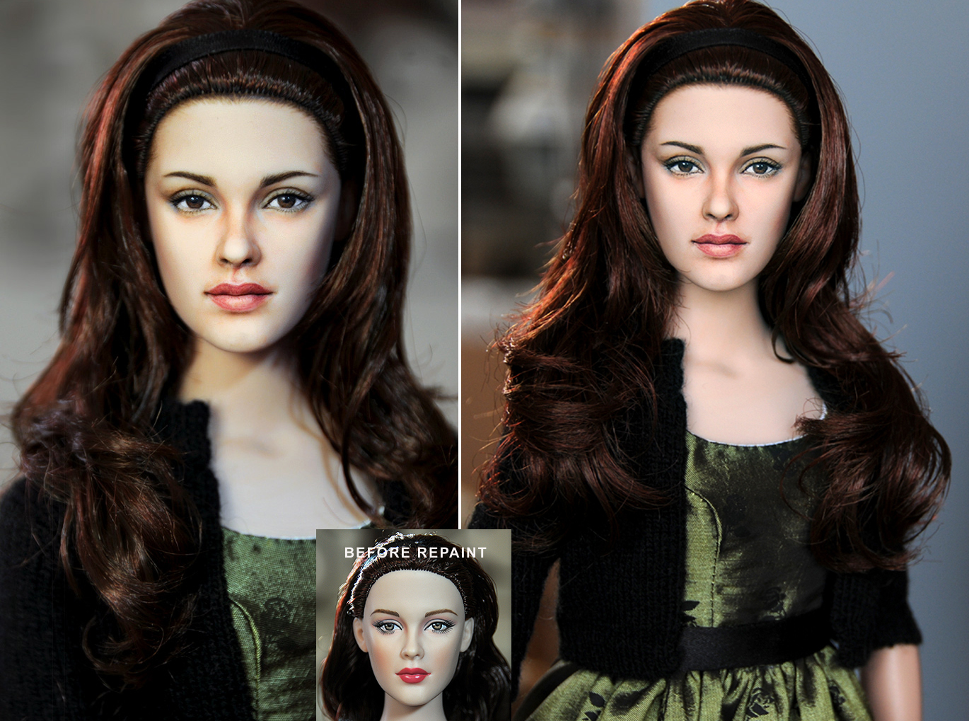 Bella Swan New Moon doll by noeling