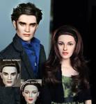 New Moon Bella n Edward dolls