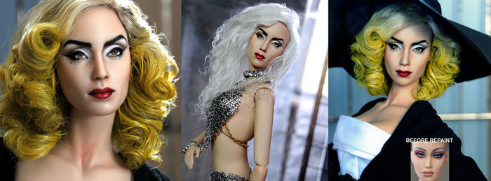 Doll Repaint - LADY GAGA