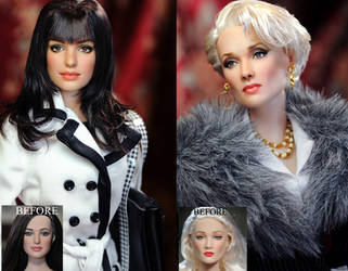 Devil Wears Prada custom repaint dolls by noeling