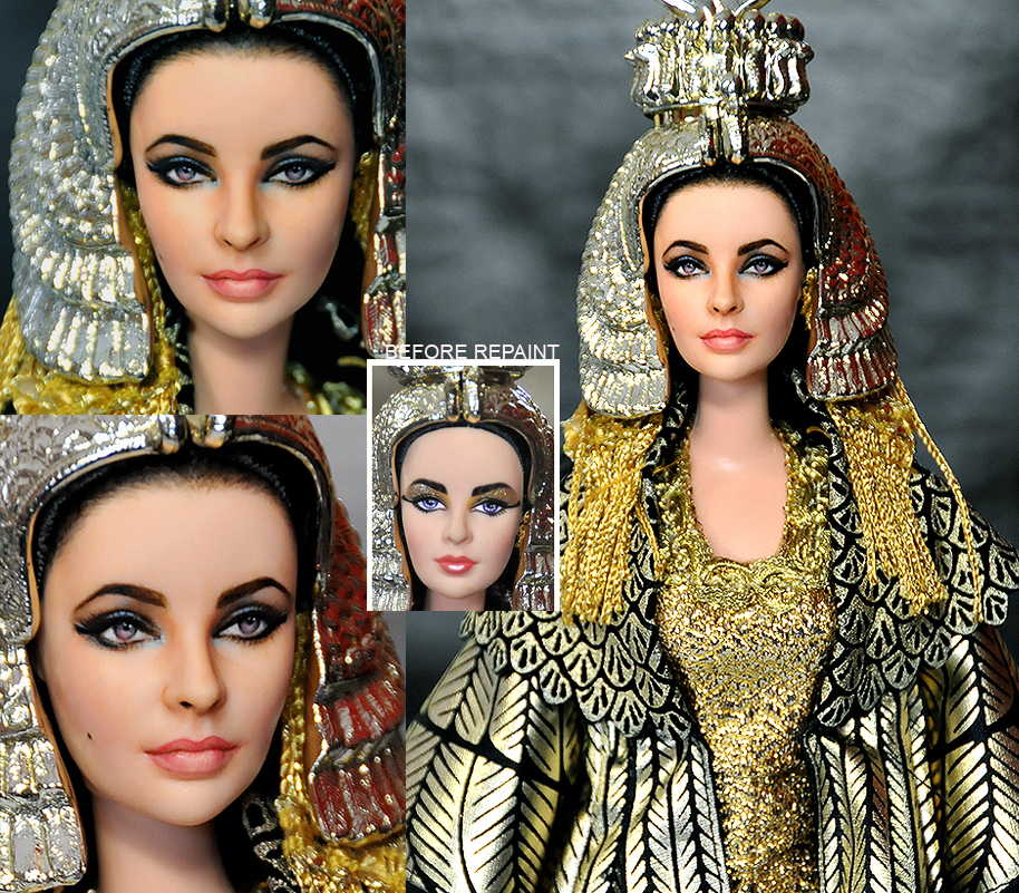 Elizabeth Taylor Tribute Doll by noeling