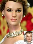 Keira Knightley Repaint Doll