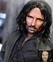 Doll Repaint - Aragorn