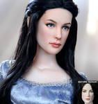 Arwen custom doll repaint