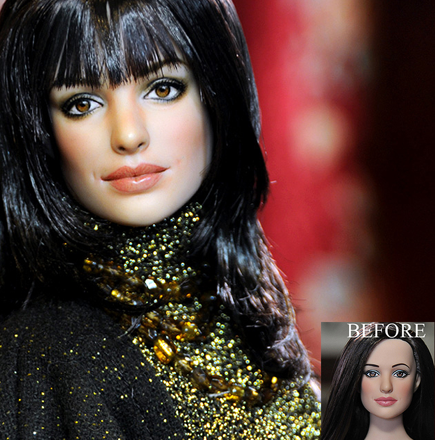 Anne Hathaway as Andrea doll by noeling