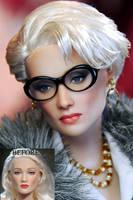 Meryl Streep as Miranda doll by noeling