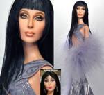 Cher Doll Repaint