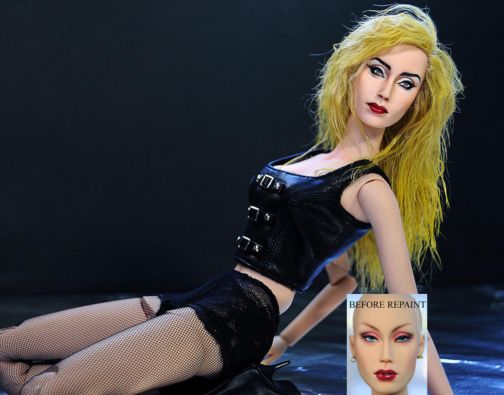 Lady Gaga doll art by noeling