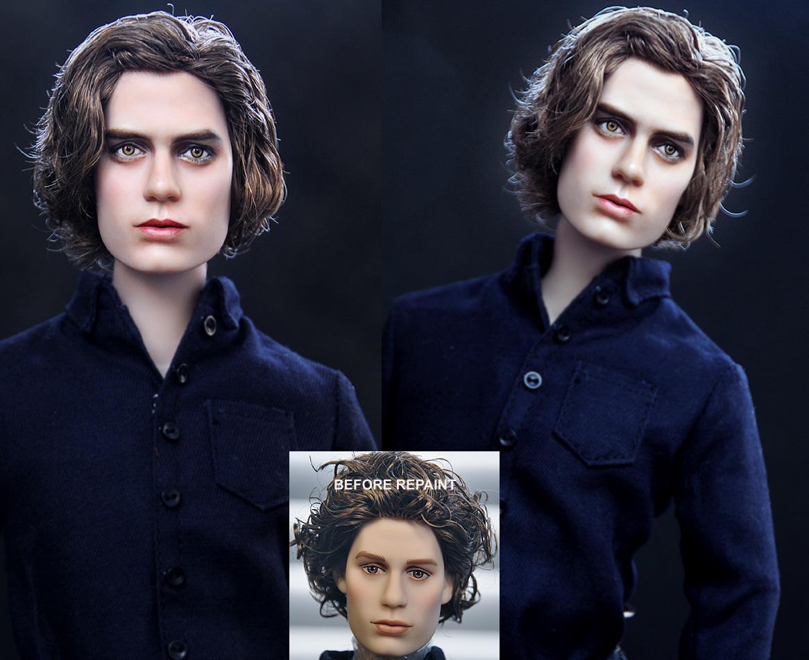 Twilight Jasper Hale doll by noeling