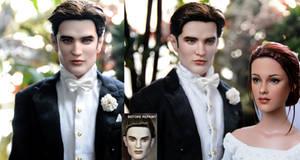 Edward Cullen Breaking Dawn doll by noeling