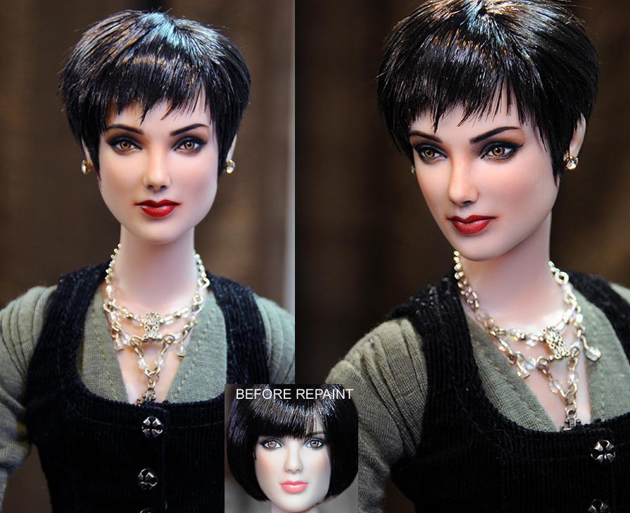 Breaking Dawn Alice Cullen doll repaint by noeling