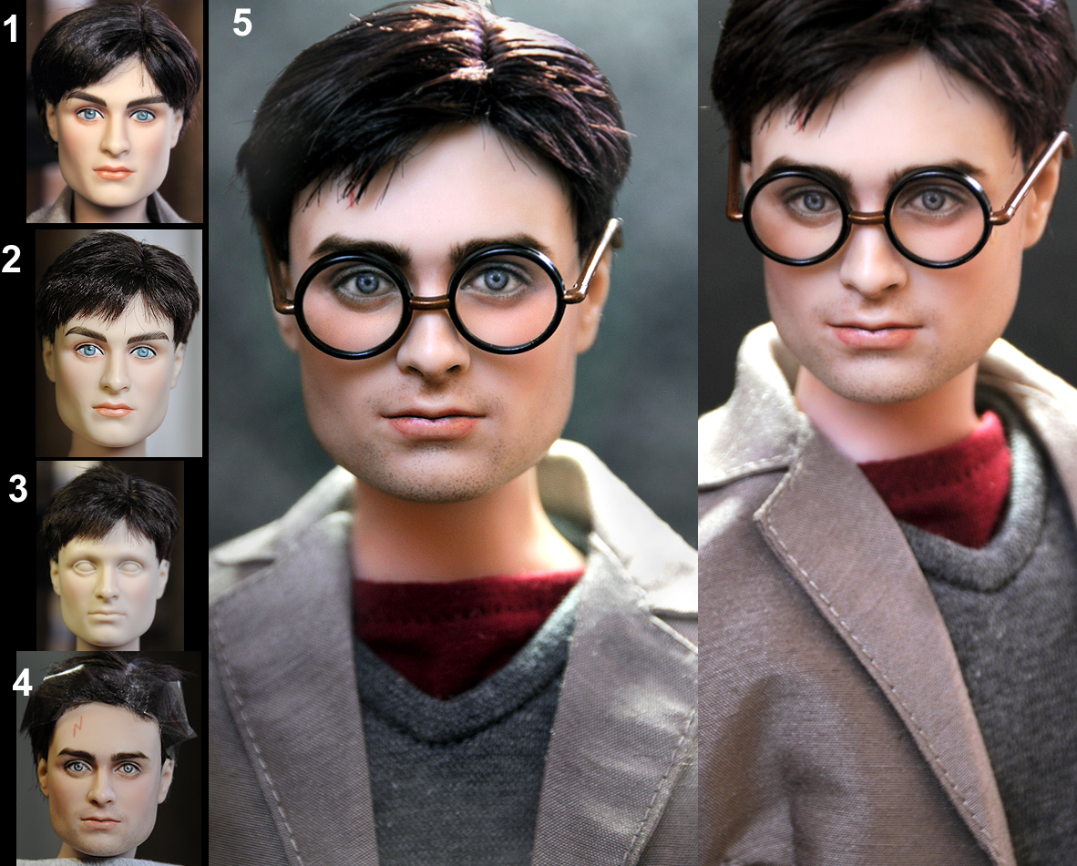 Daniel Radcliffe as Harry Potter custom doll by noeling