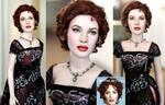 Kate Winslet as Titanic Rose custom doll