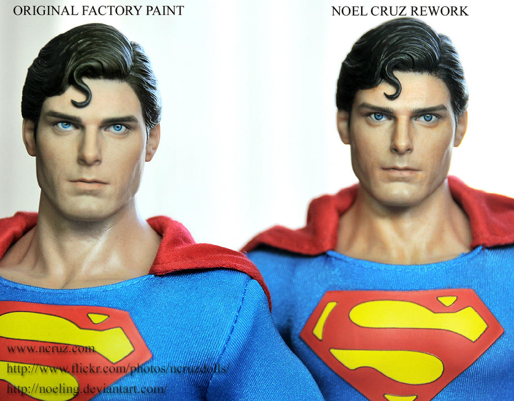 Hot Toys Superman Custom Partial Rework by noeling