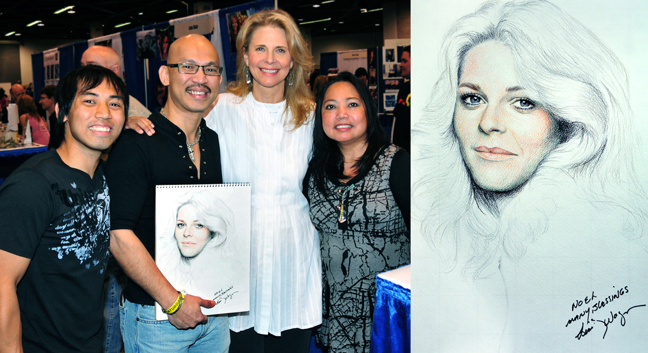 Meeting Bionic Woman Lindsay Wagner by noeling