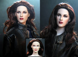 Vampire Bella Swan doll in Breaking Dawn part 2 by noeling