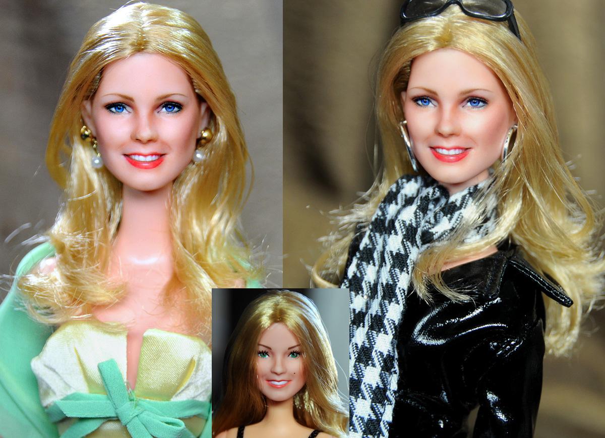 Cheryl Ladd Charlie's Angels doll repaint by noeling