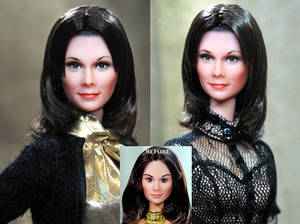 Kate Jackson Charlie's Angels doll repaint