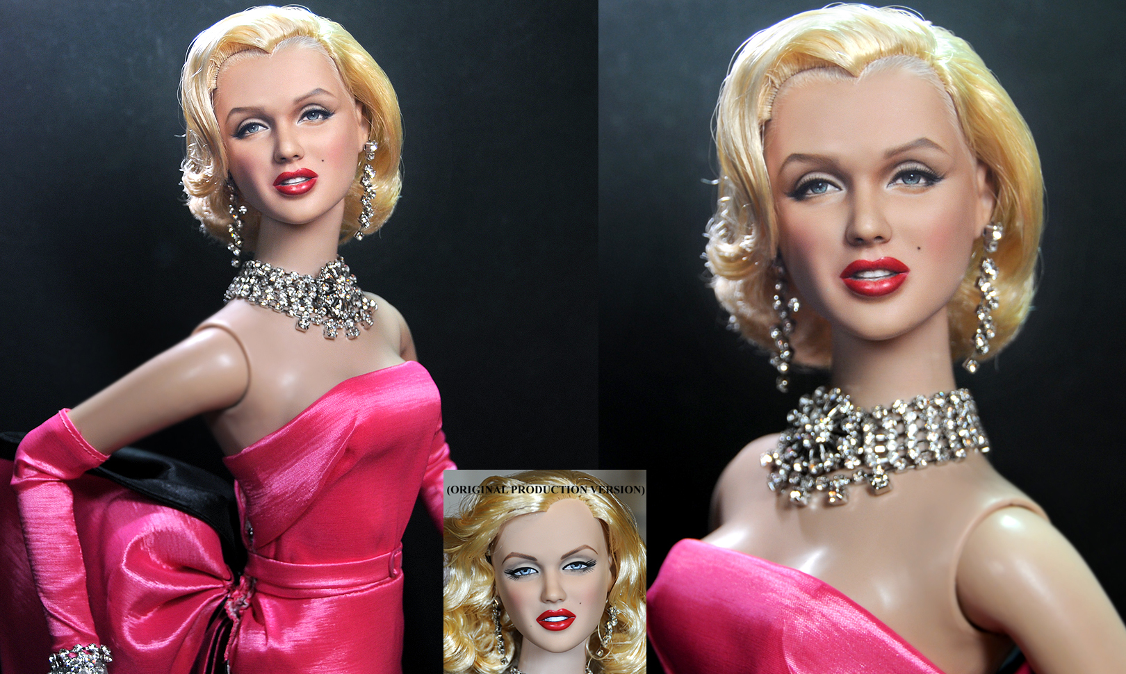Marilyn Monroe custom doll repaint by Noel Cruz by noeling