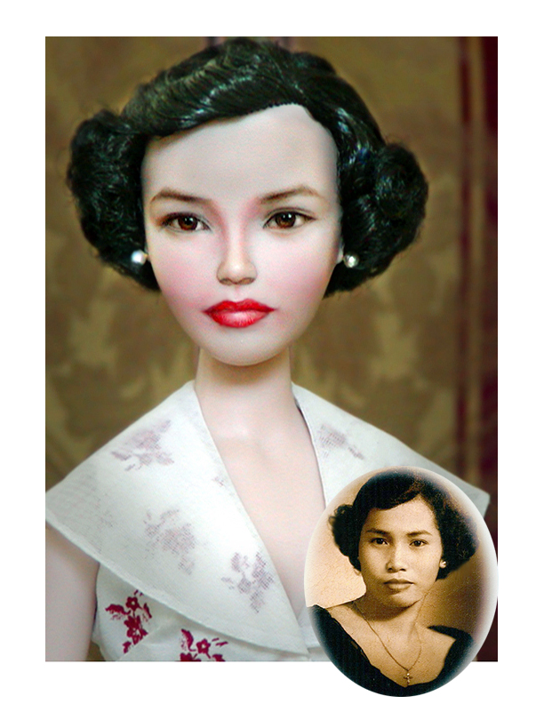 Repaint Doll - My dearest Mom Carmen Cruz by noeling