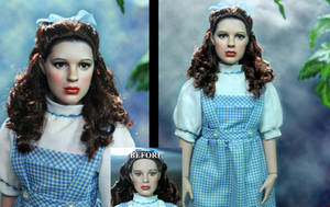 Wizard of Oz Emerald City Dorothy doll repaint by noeling