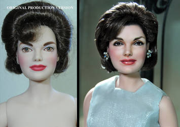 Jacqueline Kennedy doll repaint by Noel Cruz by noeling