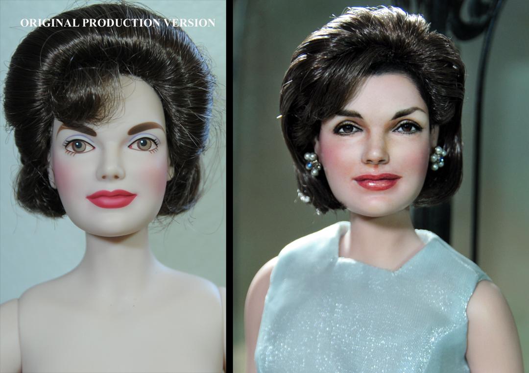 Jacqueline Kennedy doll repaint by Noel Cruz
