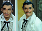 Rhett Butler Gone With The Wind doll repaint