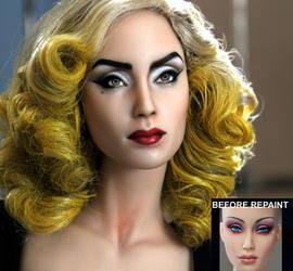 custom doll repaint Lady Gaga - Telephone