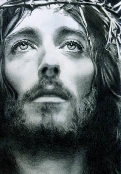 ATONEMENT -JESUS CHRIST PORTRAIT by Noel Cruz