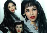 Selena Quintanilla Amor prohibido doll repaint