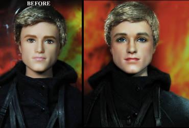 Hunger Games Josh Hutcherson Peeta Mellark doll