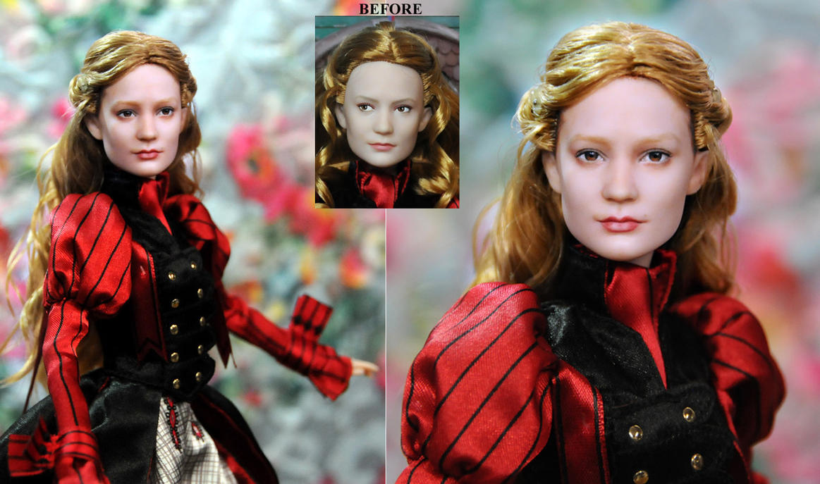 Alice custom doll repaint by Noel Cruz by noeling