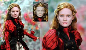Alice custom doll repaint by Noel Cruz by noeling