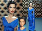 Gal Gadot Wonder Woman Diana Prince doll repaint