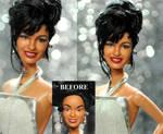 Selena Quintanilla Grammy doll custom repaint