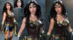 Tonner Wonder Woman Gal Gadot custom doll repaint