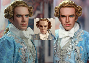 Doll Repaint Beauty and the Beast Prince Adam