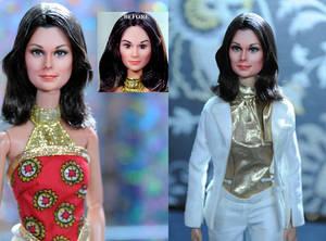 Charlie's Angels Kate Jackson doll repaint - NCruz