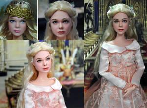 Elle Fanning as Maleficent Aurora doll - Noel Cruz